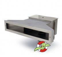 Nerezový skimmer SLIM 500